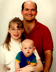 picture of a family with a child with disability